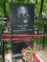 Moskva Vagankovskoe kladbische