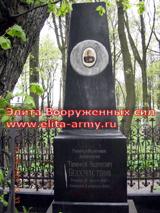 Leningrad Volkovskoe kladbische