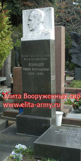Moscow Novodevichy Cemetery 2