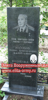 Moscow Mitino cemetery