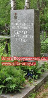 Petersburg Serafimovsky cemetery
