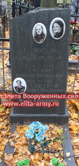 Moscow Kuzminsky cemetery