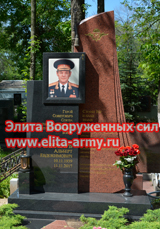 Ryazan Skorbyashchinsky cemetery